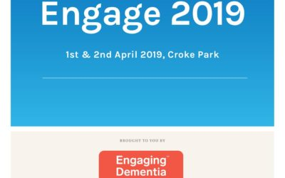 Engage 2019 – The International Dementia Conference